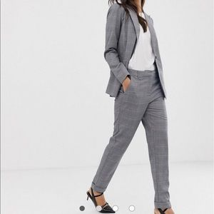 YAS ASOS women's suit blazer pant SET
